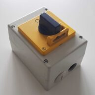 PFT Schalter Durchlaufmischer