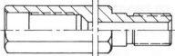"Bohrkronen-Verlängerung 500mm AG/IG 5/4"""