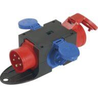 Kompakt-Verteiler CEE16A IP54