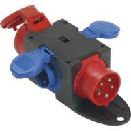 Kompakt-Verteiler CEE16A IP44