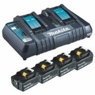 Makita Power Source Kit K 18,0V 4x6Ah DC18RD