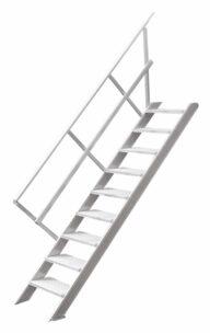 Hymer Treppe 2211 stationär ohne Podest 60cm 9 Stufen