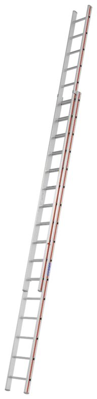 Hymer Schiebeleiter 2-teilig 4046 2x16 Sprossen