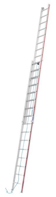 Hymer Seilzugleiter 4051 zweiteilig 2x16 Sprossen
