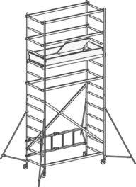 Hymer Klappgerüst 70994 Modul 1+2+Kit SAFE-T SOLUTION