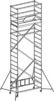 Hymer Klappgerüst 70994 Modul 1+2+3+Kit SAFE-T SOLUTION