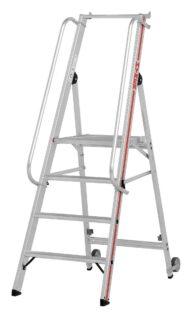 Hymer Plattformleiter 8081 4 Stufen