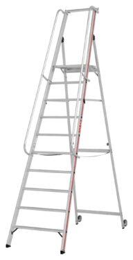 Hymer Plattformleiter 8081 10 Stufen