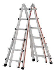 Hymer Teleskopleiter Telestep 8142 4x6 Sprossen