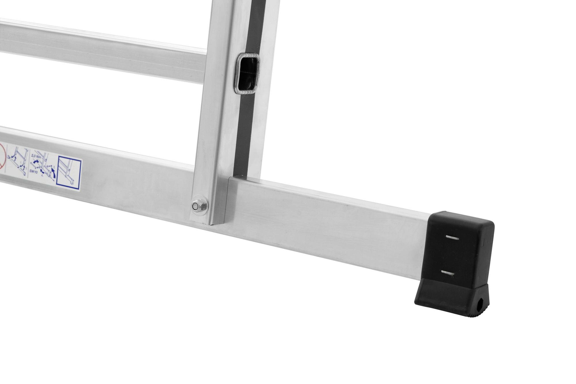 hymer mehrzweckleiter 70045 2x12 sprossen alu pro baudienst onlineshop. Black Bedroom Furniture Sets. Home Design Ideas